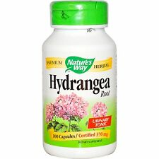 Nature's Way, Hydrangea Root, 370 mg, X 100 Capsules .