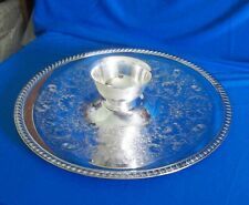 William Rogers Vintage Silver Plated Vegetable Tray &Paul Revere Bowl FREE SHIP