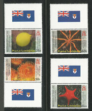 2007 British Antarctic Territory Scott 382-5 Marine Invertebrates - MINT