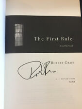 The First Rule by Robert Crais Signed 1st Like New (2010, Hardcover) Joe Pike