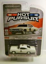 1967 '67 CHEVY IMPALA INDIANA USA HOT PURSUIT GREENLIGHT DIECAST 2017