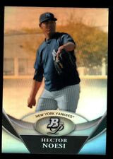 HECTOR NOESI YANKEES ROOKIE CHROME REFRACTOR RC 2011 BOWMAN PLATINUM PROSPECTS