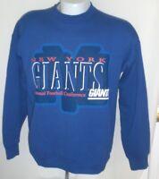 Vintage New York Giants Sweatshirt Starter Mens LARGE NFL Old Team Logo Football