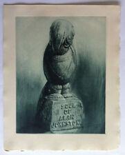 SOUL ALAN JOHNSTONE HENRY CLEWS Monde Etrange GRAVURE NAPOULE Sculpture IN4 1959