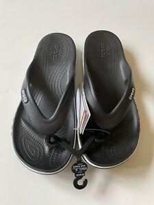 Crocs Black Bayaband Flip M11 205393-066