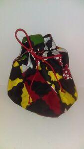African design purse tote
