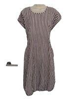 masai xxl Midi Stripe  Lagenlook Dress