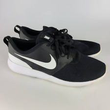 New listing Nike Mens Roshe G Golf Sneakers Black AA1837-001 Lace Up Low Top US 14M