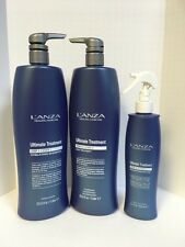 Lanza Ultimate Treatment Shampoo, Deep Treatment, Protector - 33.8oz Liters TRIO