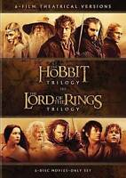 Hobbit Trilogy + Lord Rings Trilogy Limited Collectors Edition (DVD) NEW