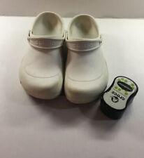 Unisex Crocs Mercy Work Slip On White  Men Size 10 Women Size 12
