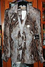 Carrie Allen Blouse NWT size L