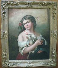 HENRY HARRISON MARTIN 1847-1882 -  BRITISH FIGURE ARTIST - Framed - Signed