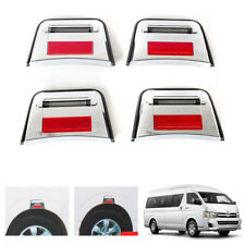 LED Fender Ornaments Fit Toyota Hiace Commuter LWB Van 2008-2013