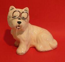 West Highland Terrier Dog Ceramic String Holder Mother Christmas Useful Gift NEW