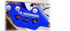 """T.M. Designworks BLUE """"Factory 1"""" Chain Guide for Yamaha 2008-17 YZ125 YZ250"""