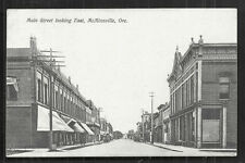 McMinnville Main Street Shops OR Oregon stamp 1910