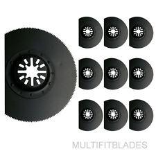 "10 x 3-1/2"" Flush Cut Circular Oscilating Tool Blades - Bosch Multi-X Compatible"