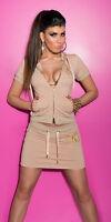 mini jupe sport beige fashion femme