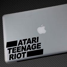 ATARI TEENAGE RIOT VINYL STICKER CAR DECAL laptop cd shirt hat bumper poster ATR