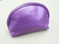 Authentic Shiseido Makeup / Toiletry Bag, Purple / Lavender