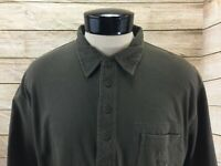 New American Eagle Polo Shirt Men's XL with pocket NWT Green