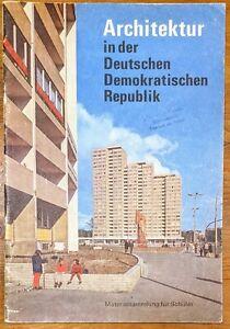 Architektur in der DDR 1972 Sammlung für Schüler Kunst Betrachtung Unterricht