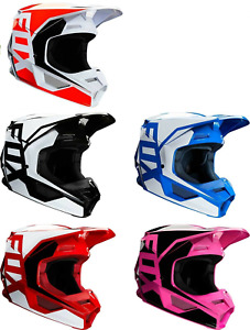 2020 Fox Racing Adult V1 Prix Dirtbike Helmet - Offroad ATV ALL COLORS
