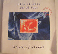 Dire Straits On Every Street World Tour 20 Page Large Format Tour Programme