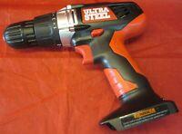 Heavy Duty ULTRA STEEL NI-CD 12V Cordless 3/8In. Drill w/ Led AP00996G Bare Tool
