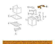 TOYOTA OEM 09-13 Matrix Battery-Hold Down Tie Bracket Clamp 7440402230