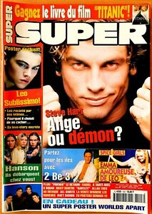 SUPER N°123 (06/1998) AVEC POSTERS & FICHES + POSTER GÉANT L. DI CAPRIO [BE]