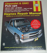 Reparaturanleitung Chevrolet GMC Pickup Pick-Up C-/K-Serie Tahoe Blazer ´88-2000