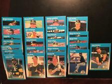 1987 FLEER  (26) ATHLETICS Team CARDS W/ JOSE CANSECO  ROOKIE, SET-BREAK MINT