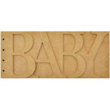 "Kaiser Craft Landscape Beyond The Page Mdf Baby Album 11.5""X5"""