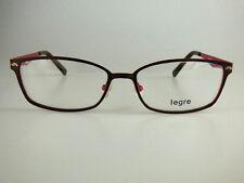 legre eyeglasses model LE5072 Color 1212 brown/red