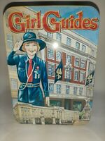 The Girl Guides association Vintage Style Biscuit  Tin Cheshire forest 1996