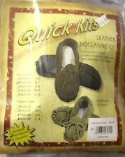 Quick Kit - Native Heritage Children Size - Leather Moccasin Kit - NEW!