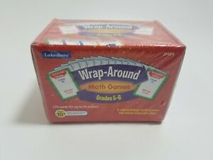 Lakeshore Learning Vintage Wrap Around Math Games Grades 5-6 Skill Building