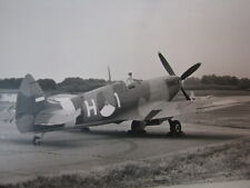 Photo Supermarine Spitfire KLu H-1, Open Dag KLu VLB Deelen 1978 3x