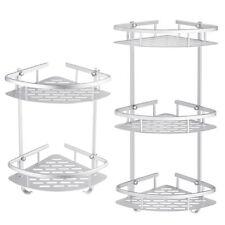2 3 Layer Bathroom Triangular Shower Caddy Shelf Corner Bath Storage Holder Rack