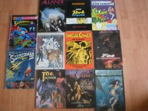 Comic-Sammlung 11stück Splitter u.a.