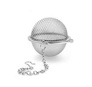 QwinOut Reusable Stainless Steel Mesh Infuser Strainer Tea Ball for Tea Cups