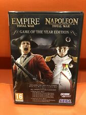 EMPIRE TOTAL WAR NAPOLEON TOTAL WAR GAME OF THE YEAR EDITION UNUSED FREEPOST