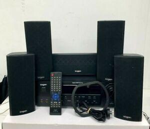 KOGAN 5.1 SURROUND SOUND SYSTEM, DIGITAL HDMI RECEIVER 5 SPEAKERS - KAHTS51BTXB