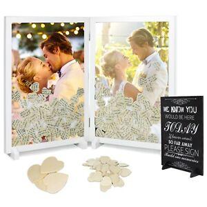 Upgrade Drop Top Wooden Guest Book Alternative for Wedding Reception