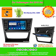 7''Android 4.4 Car DVD Player,Stereo,GPS,Radio,Wifi,Aux for 2013 Volkswagen Gol