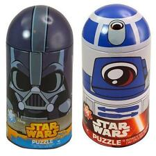 Star Wars Ep 7 Chewbaca R2D2 Darth Vader Puzzle Bundle ALL 3 Brand NEW Tin Can