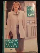 Butterick Sewing Pattern 5274 Oversized Jacket w// Contrast Sleeve Lining Blazer