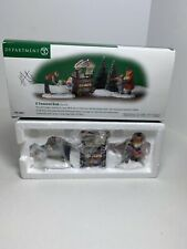 Department 56 - A Treasured Book - Set Of 3 58963 Christmas In The City